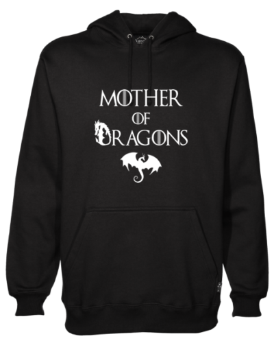 Mother of Dragons Black Hoodie