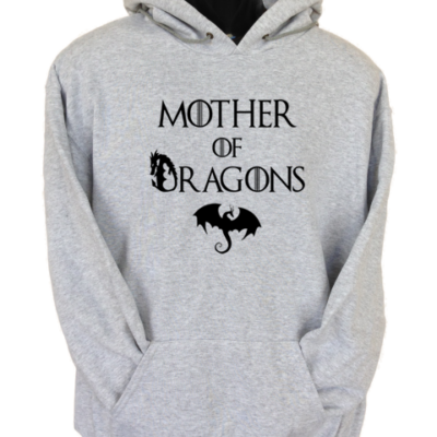 Mother of Dragons Grey Hoodie