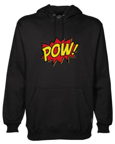 Pow! Black Hoodie