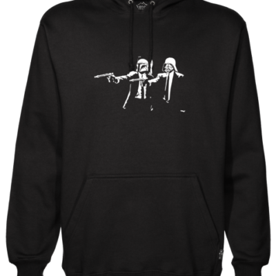 Pulp Fiction Stars Black Hoodie