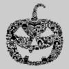 Pumpkin-Face-Grey