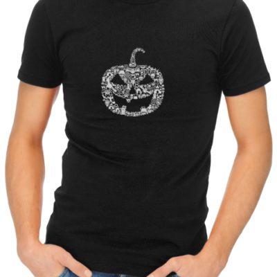 Pumpkin-Face-mens-short-sleeve