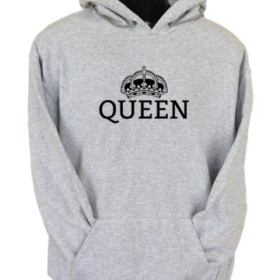 Queen Grey Hoodie