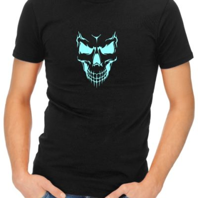 Scary-Skull-Face-mens-short-sleeve