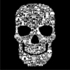 Skull-Face-Collage-Black