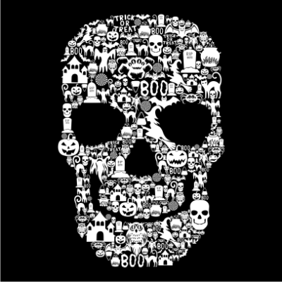 Skull-Face-Collage-Black