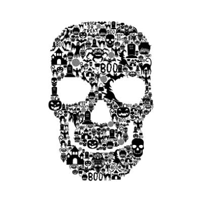 Skull-Face-Collage-White