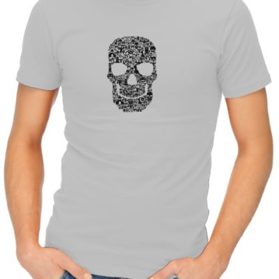 Skull-Face-Collage-mens-short-sleeve