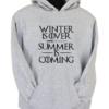 Summer is Coming Grey Hoodie