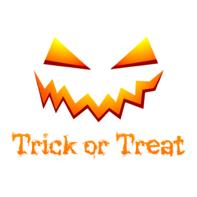 Trick-or-Treat-White