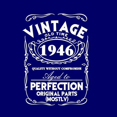 Vintage-dark-blue