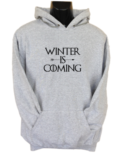 Winter is Coming Grey Hoodie