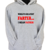 World_s Greates Farter Grey Hoodie