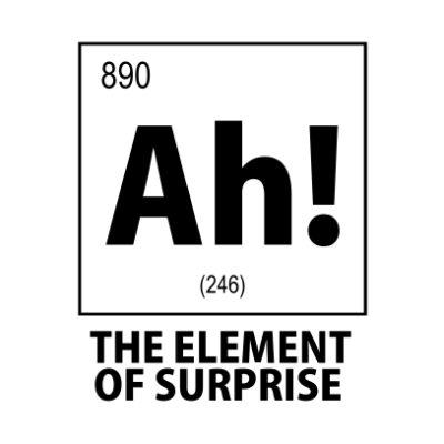 ah the element of surprise white square