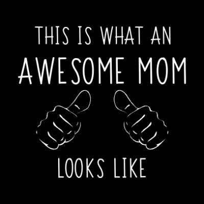 awesome-mom-black-square
