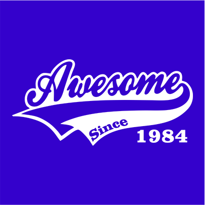 awesome since blue square