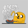 bacon pancakes grey square