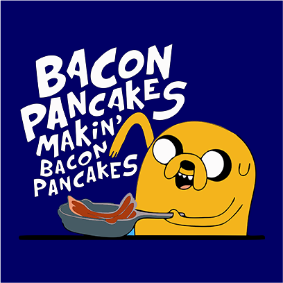 bacon pancakes navy square