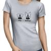 batdog ladies tshirt grey