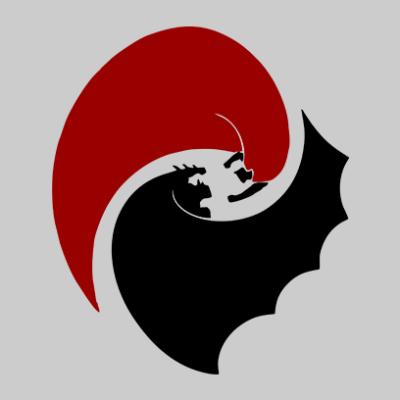batman vs superman grey square