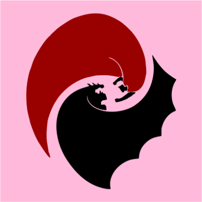 batman vs superrman pink square