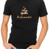 be grounded mens tshirt black