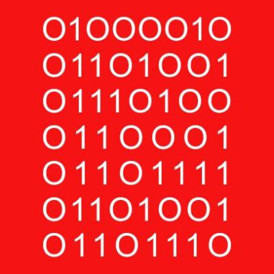 bitchin binary dad red