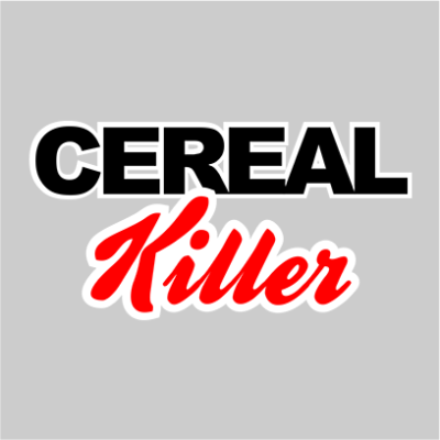 cereal killer grey square