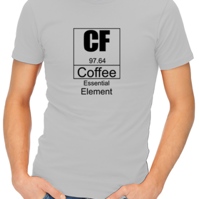 coffee essential element mens tshirt