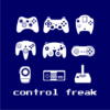 control freak navy square