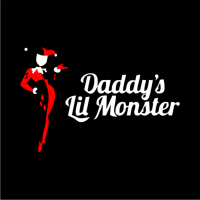 daddys-little-mosnter-black
