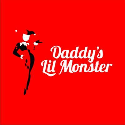 daddys-little-mosnter-red