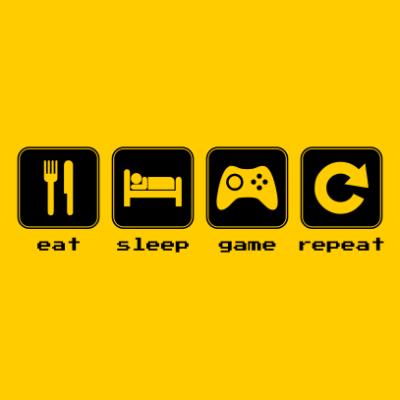 eat-sleep-game-repeat-sunflower