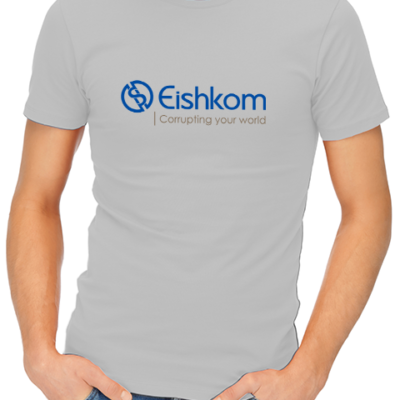 eishkom mens tshirt grey