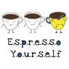 espresso yourself white square