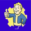 fallout boy blue square