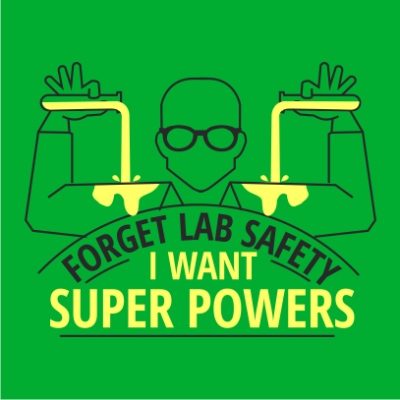 forget-lab-safety-kelly-green