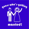 guess whos getting married blue square
