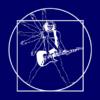 guitar-man-navy-blur