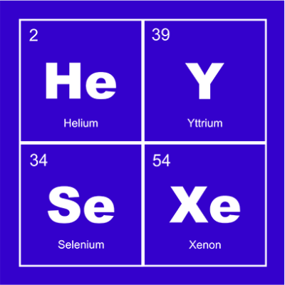 hey sexy blue square