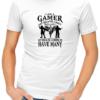 i am a gamer mens tshirt white
