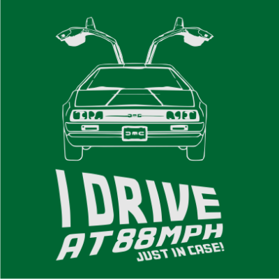 i-drive-at-88mph-nerdy-t-shirt-bottle-green