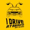 i-drive-at-88mph-nerdy-t-shirt-sunflower