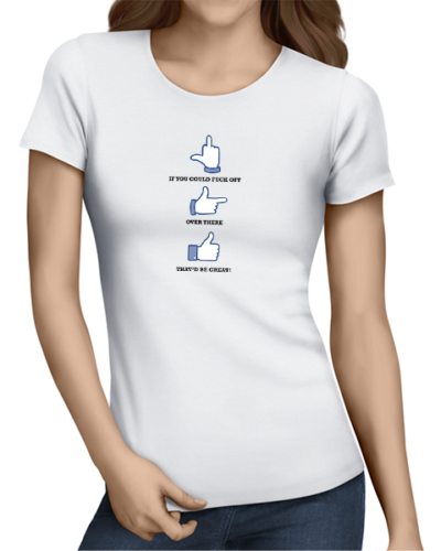 if you could ladies tshirt white