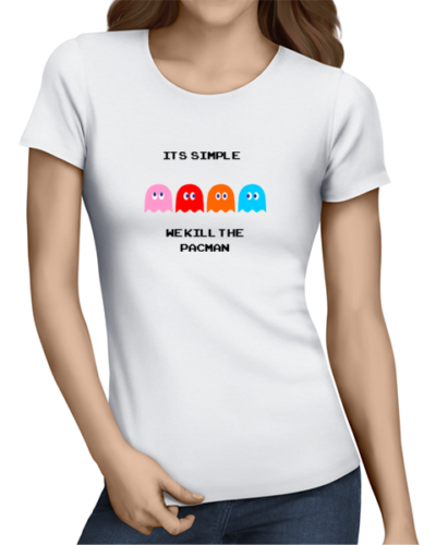 its simple ladies tshirt white