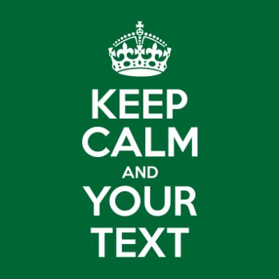 keep-calm-bottle-green