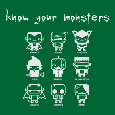 know-your-monsters-halloween-t-shirt-bottle-green