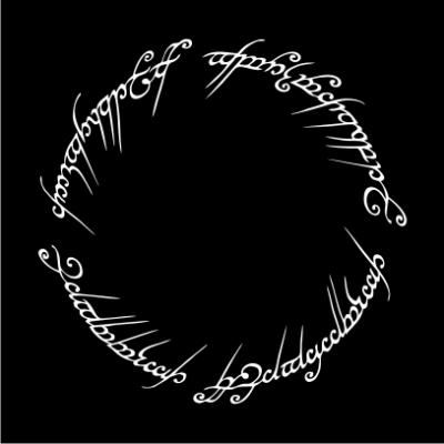 lord-of-the-rings-script-black