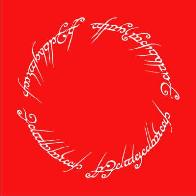 lord-of-the-rings-script-red