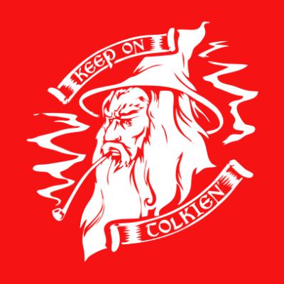 lotr-keep-on-tolken-red
